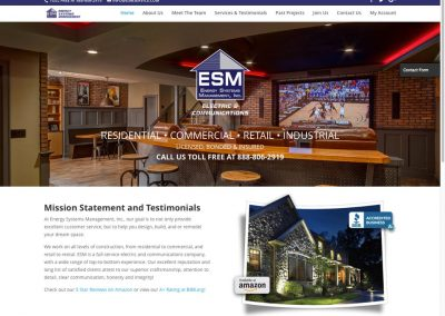 ESM Website