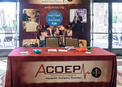ACOEP Membership Booth